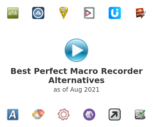 Best Perfect Macro Recorder Alternatives