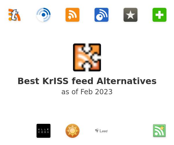 Best KrISS feed Alternatives