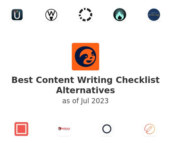 Best Content Writing Checklist Alternatives