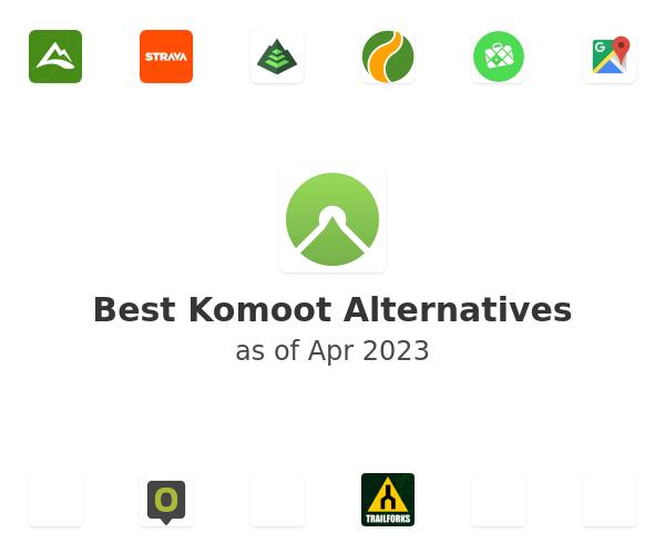 Best Komoot Alternatives