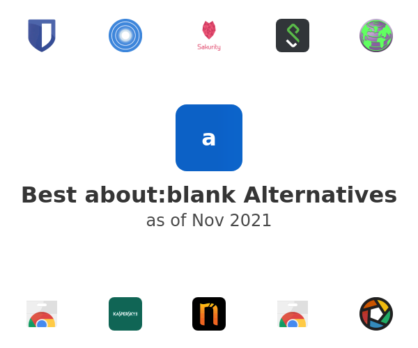 Best about:blank Alternatives