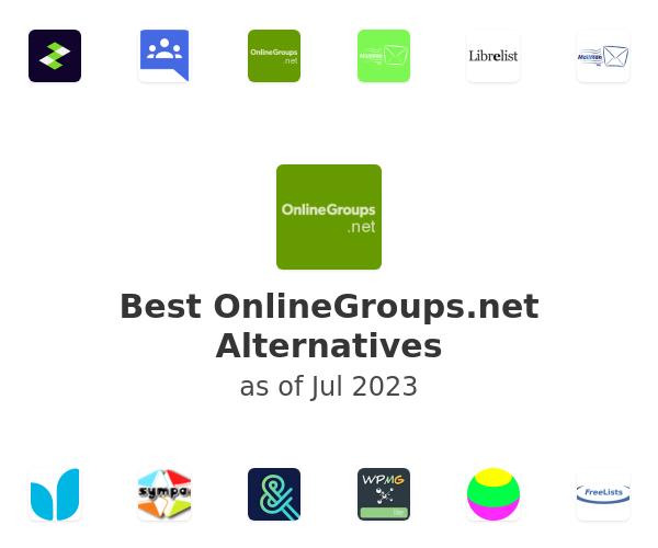 Best OnlineGroups.net Alternatives