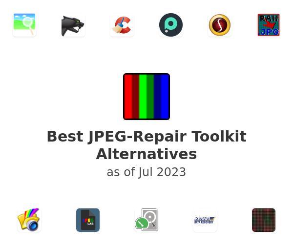Best JPEG-Repair Toolkit Alternatives