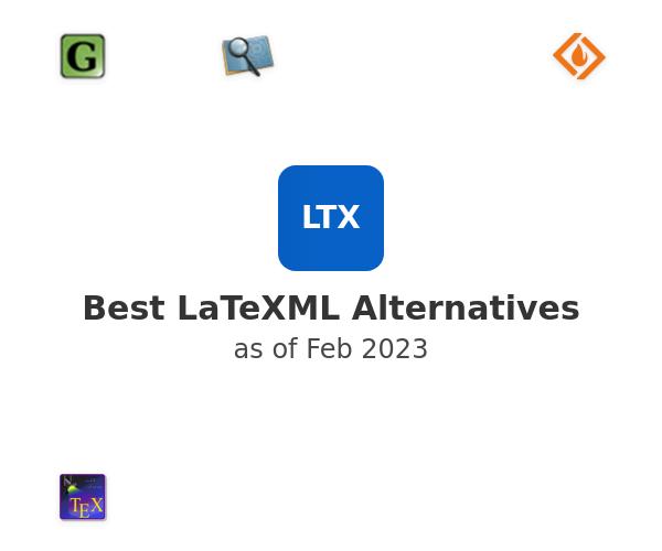 Best LaTeXML Alternatives