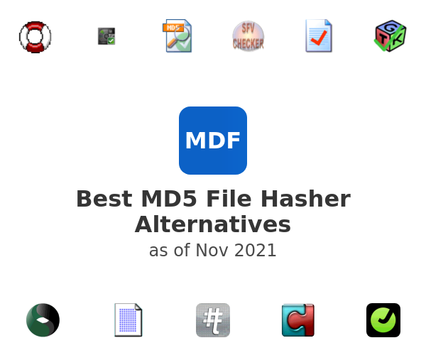 Best MD5 File Hasher Alternatives