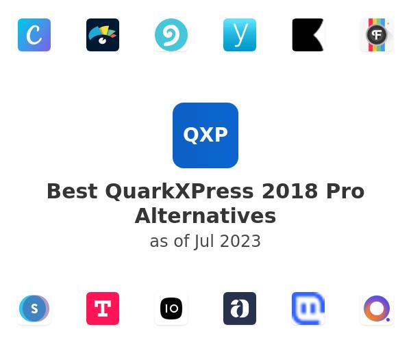 Best QuarkXPress 2018 Pro Alternatives