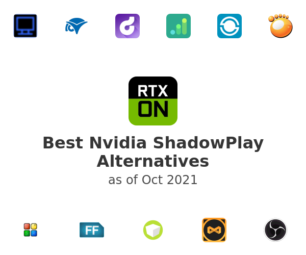 Best Nvidia ShadowPlay Alternatives