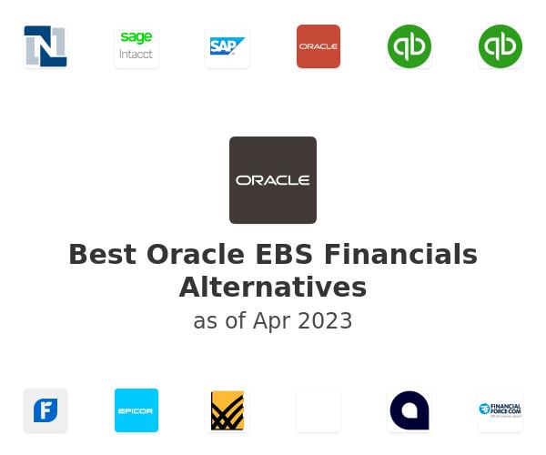 Best Oracle EBS Financials Alternatives