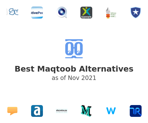 Best Maqtoob Alternatives