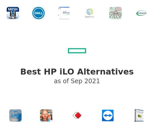 Best HP iLO Alternatives