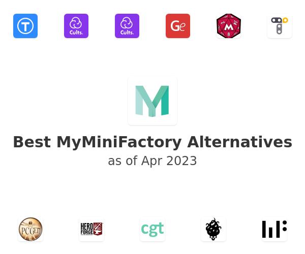 Best MyMiniFactory Alternatives