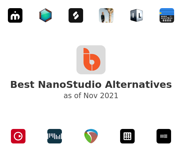 Best NanoStudio Alternatives