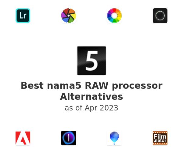 Best nama5 RAW processor Alternatives