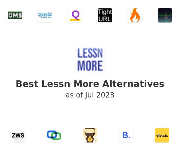 Best Lessn More Alternatives
