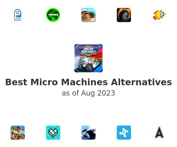 Best Micro Machines Alternatives