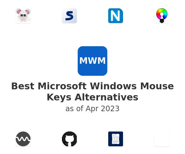 Best Microsoft Windows Mouse Keys Alternatives