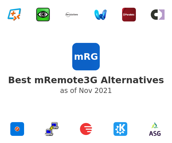 Best mRemote3G Alternatives