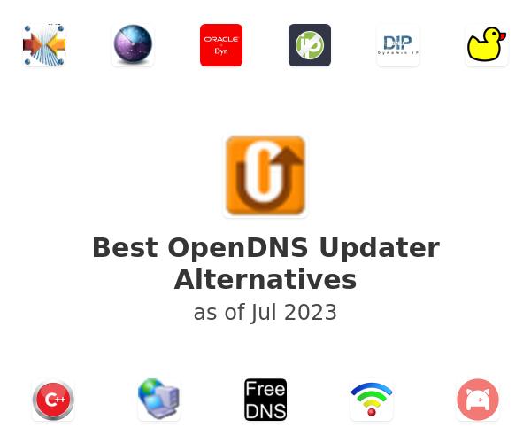 Best OpenDNS Updater Alternatives