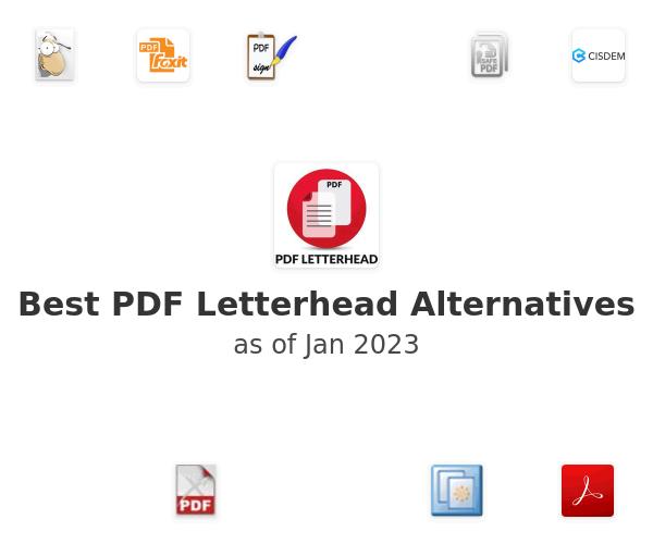Best PDF Letterhead Alternatives