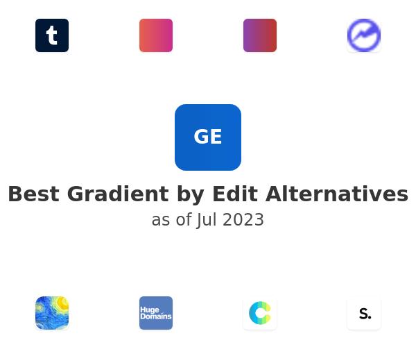 Best Gradient by Edit Alternatives