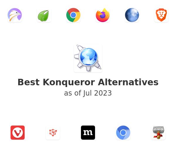 Best Konqueror Alternatives