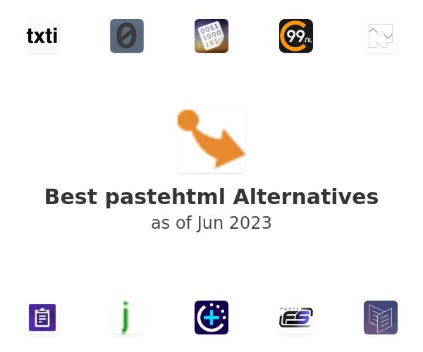 Best pastehtml Alternatives