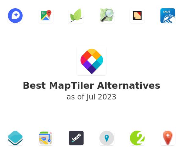 Best MapTiler Alternatives