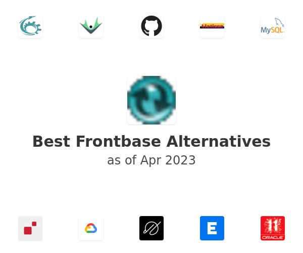 Best Frontbase Alternatives