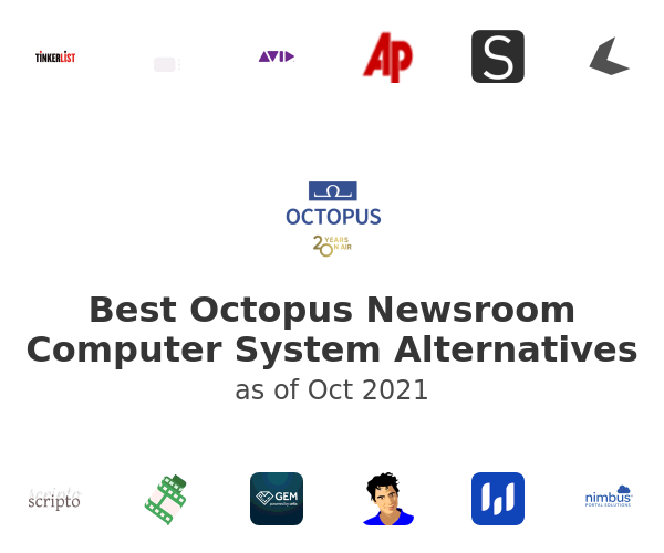 Best Octopus Newsroom Computer System Alternatives