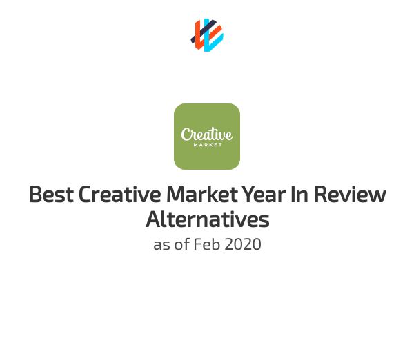 Best Creative Market Year In Review Alternatives