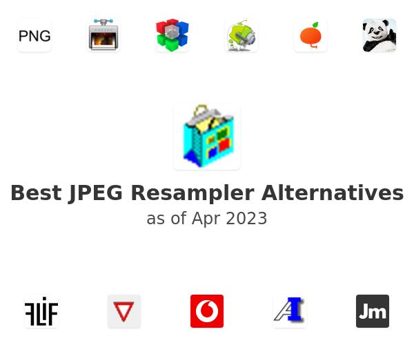 Best JPEG Resampler Alternatives