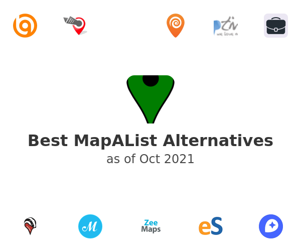 Best MapAList Alternatives