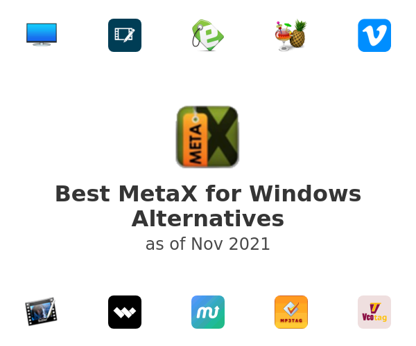 Best MetaX for Windows Alternatives