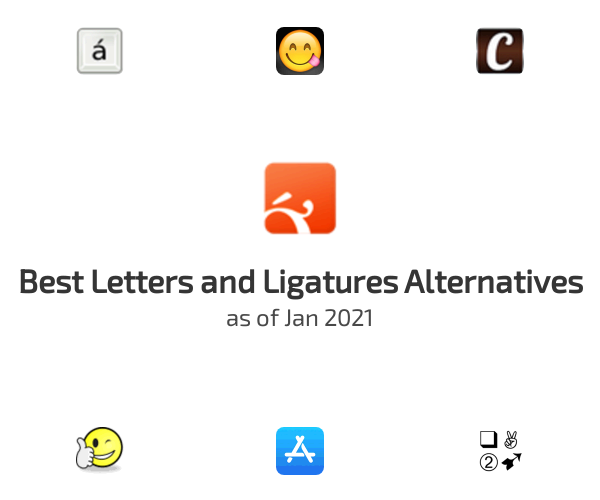 Best Letters and Ligatures Alternatives