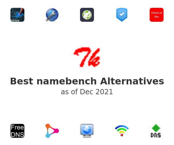 Best namebench Alternatives