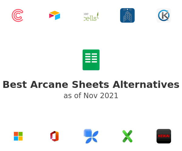 Best Arcane Sheets Alternatives