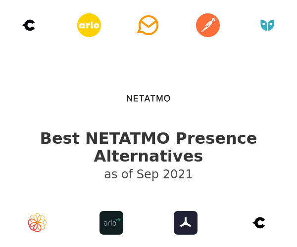 Best NETATMO Presence Alternatives