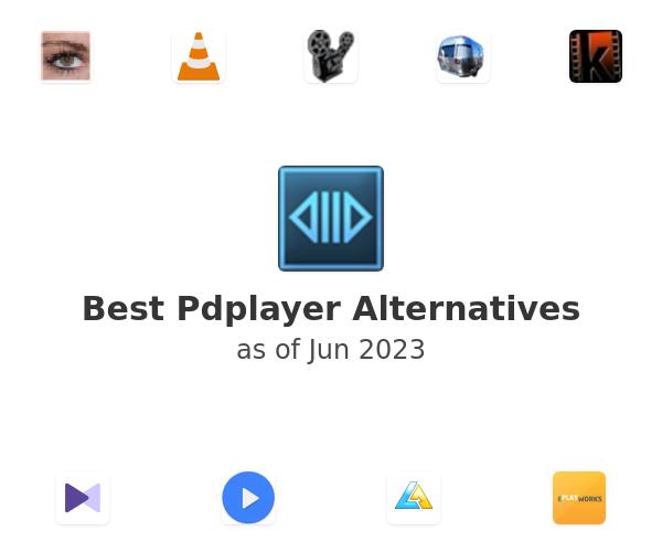 Best Pdplayer Alternatives