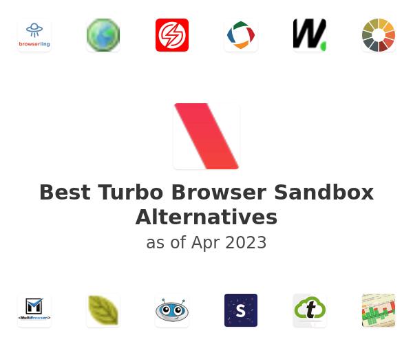 Best Turbo Browser Sandbox Alternatives