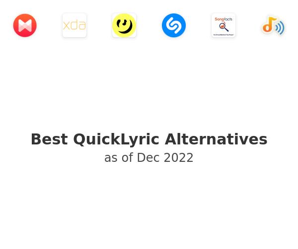 Best QuickLyric Alternatives