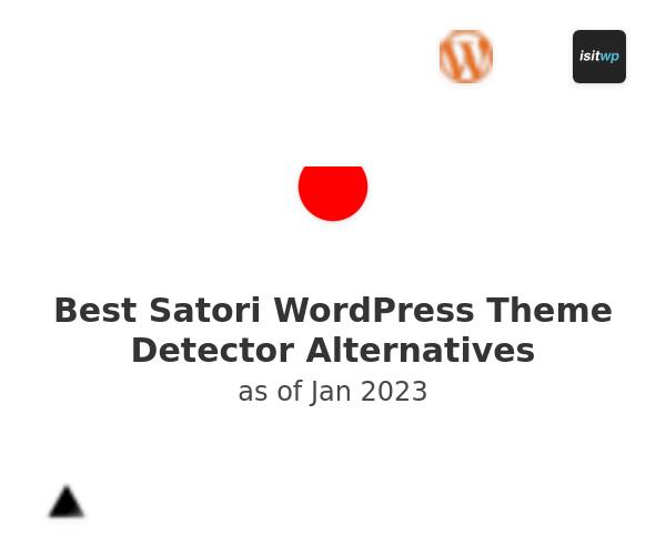 Best Satori WordPress Theme Detector Alternatives