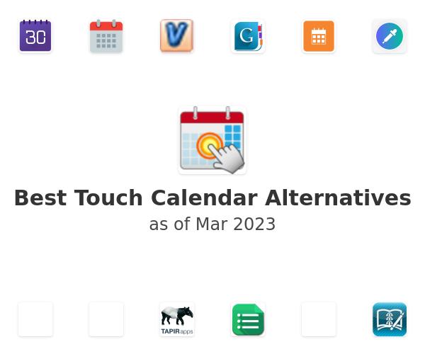 Best Touch Calendar Alternatives