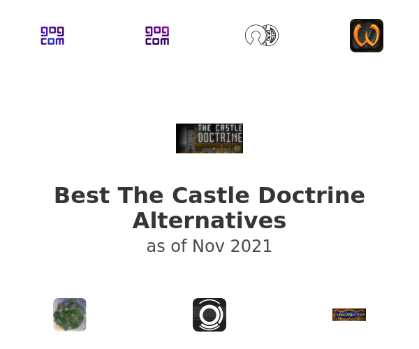 Best The Castle Doctrine Alternatives