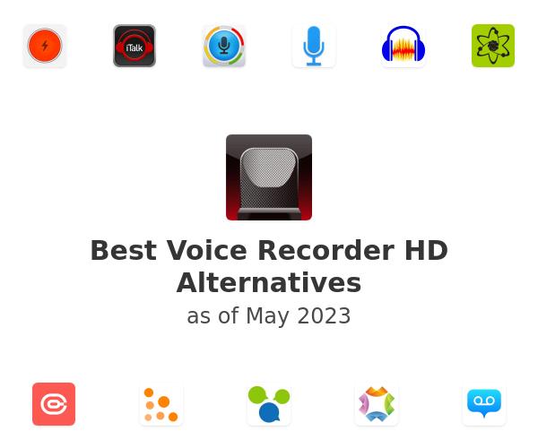 Best Voice Recorder HD Alternatives