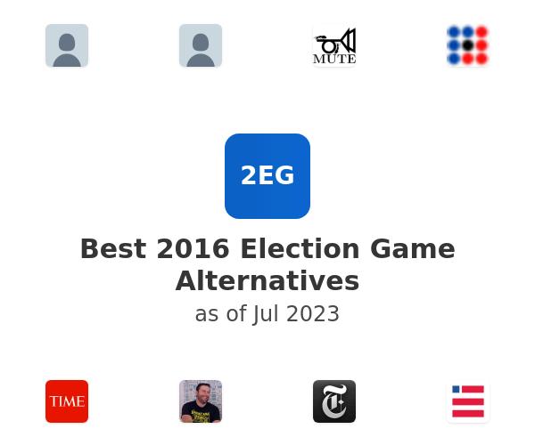 Best 2016 Election Game Alternatives