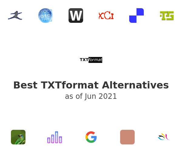 Best TXTformat Alternatives