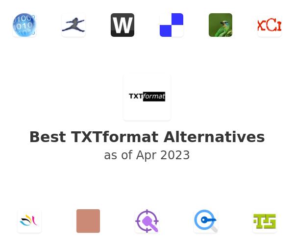 Best TXTformat Alternatives