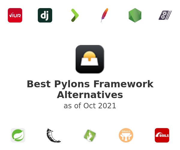 Best Pylons Framework Alternatives