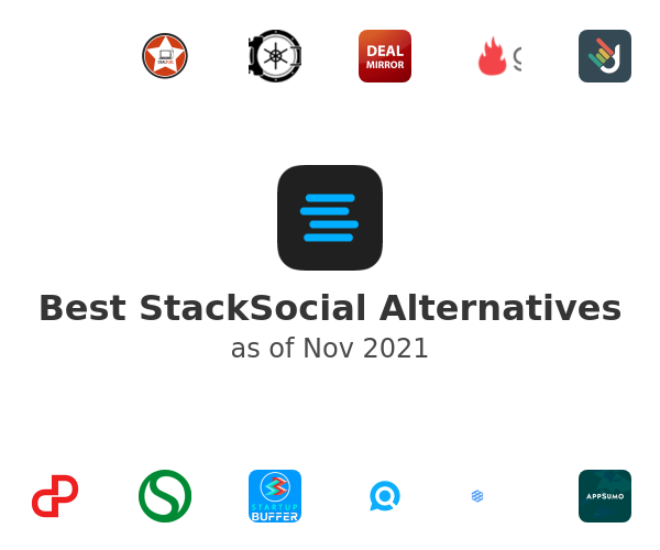 Best StackSocial Alternatives