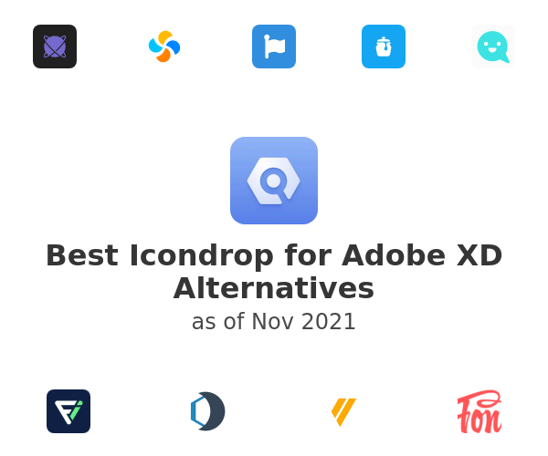 Best Icondrop for Adobe XD Alternatives